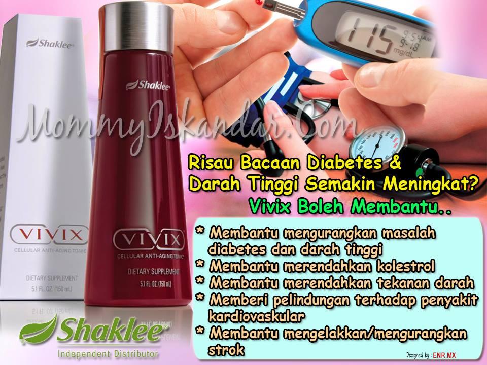 Vivix Bantu Diabetes Darah Tinggi