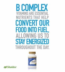 B omplex membantu mengatasi letih dan stress