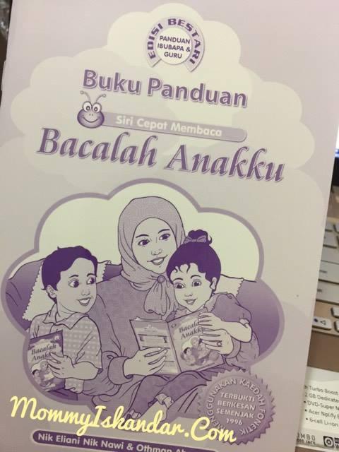 Panduan Buku Bacalah Anakku untuk ibu bapa