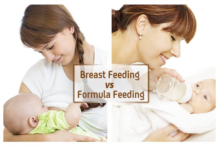 Perbandingan Susu Ibu dan Susu Formula