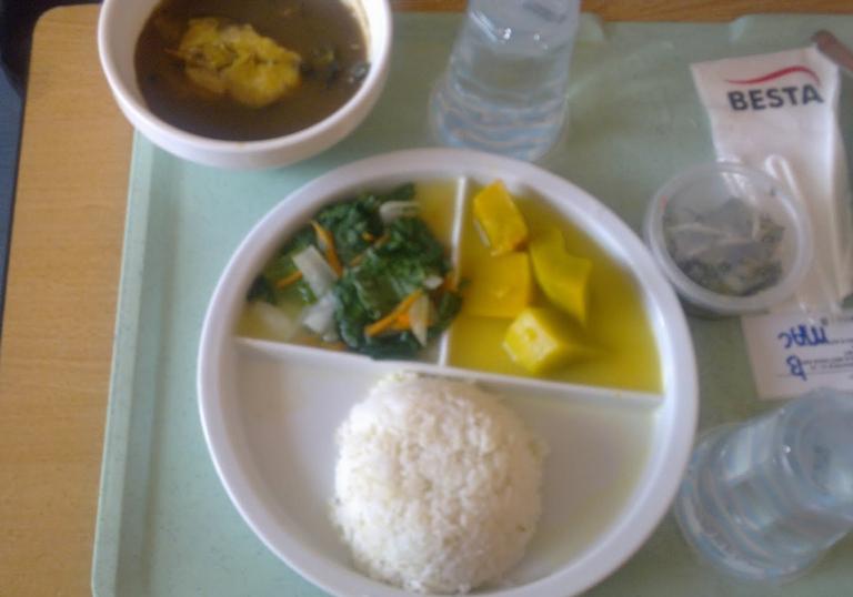 makanan di hospital