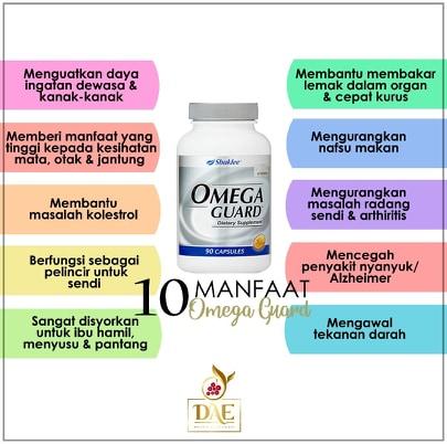 kebaikkan dan manfaat Omega